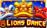 Play 5 Lions Dance and reduce your wagering requirement!