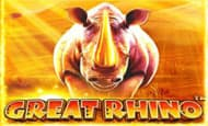 Play Great Rhino and reduce your wagering requirement!