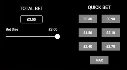 Selecting a Quick Bet on Immortal Romance